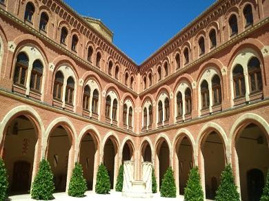 interior castillo de belmonte